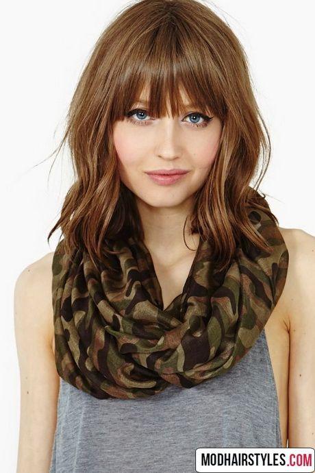 Medium Hairstyles With Bangs 2016 Bangs With Medium Hair Hair Styles Long Hair Styles