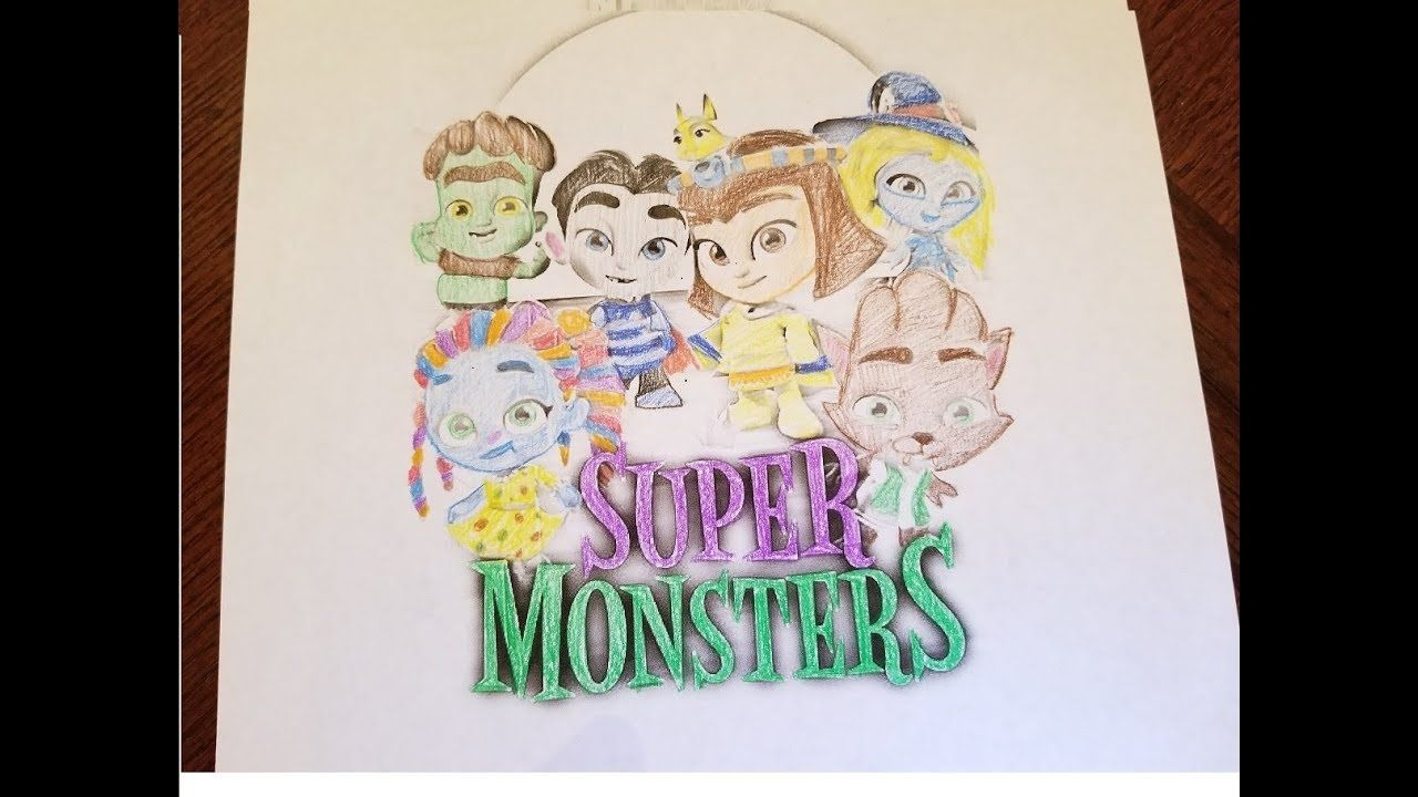 Frankie Super Monsters Coloring Pages