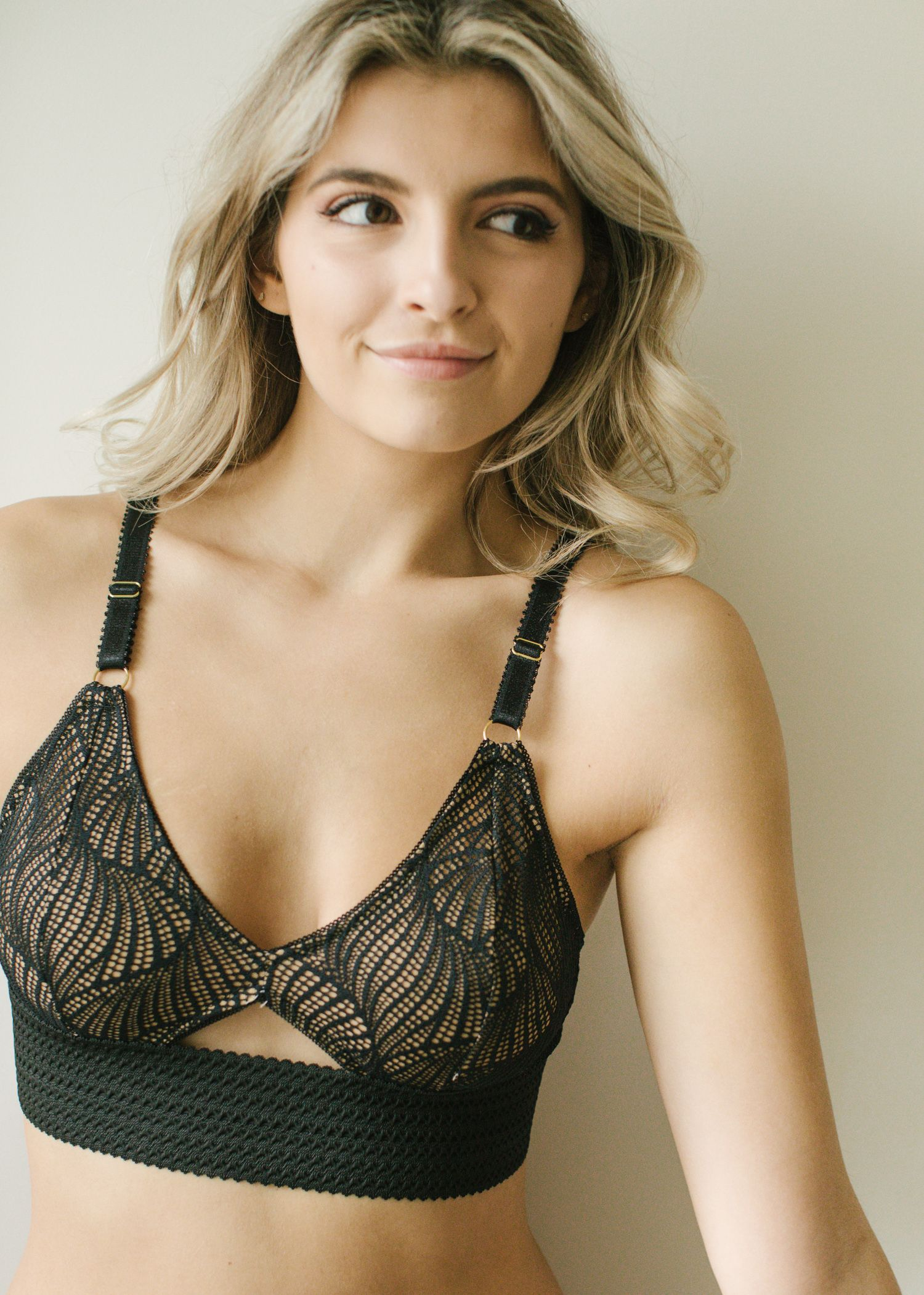 47a2f09676 Spice up your me-made lingerie collection and let your creativity shine  with Madalynne s Barrett bralette sewing kit. Receive all fabric + supplies  for the ...