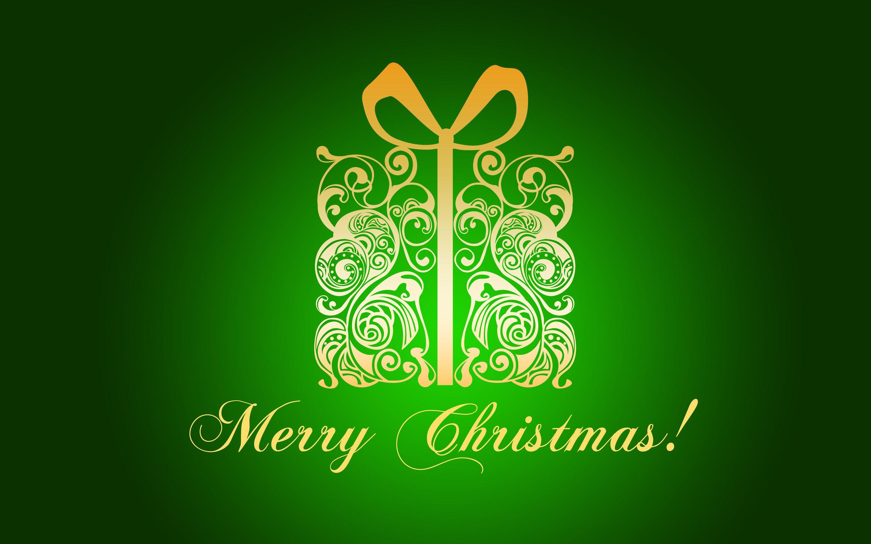 Green Merry Christmas Gold Merry Christmas Wallpaper Green Merry