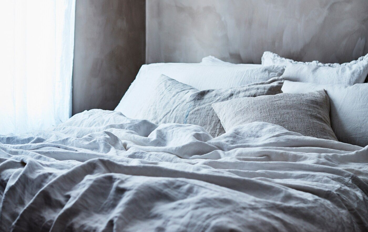 Simple Diy Textile Ideas Ikea Mattress Bed Old Bed Sheets