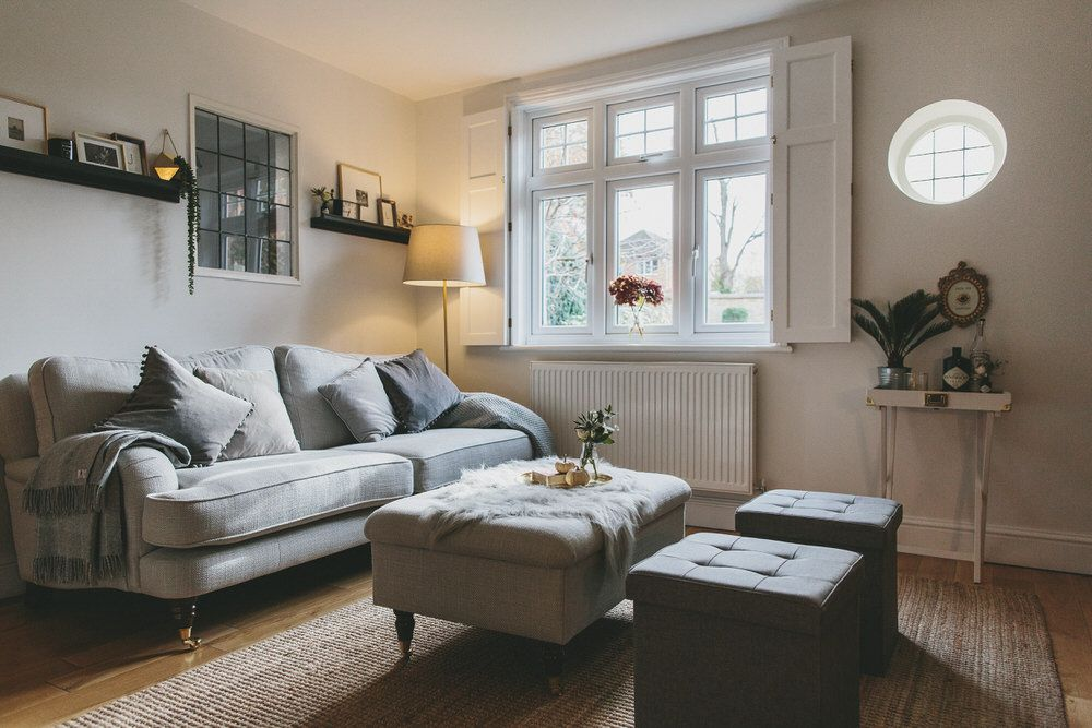 Feeling Snug Laura Ashley Sitting Rooms And Living Rooms - Laura ashley grey living room