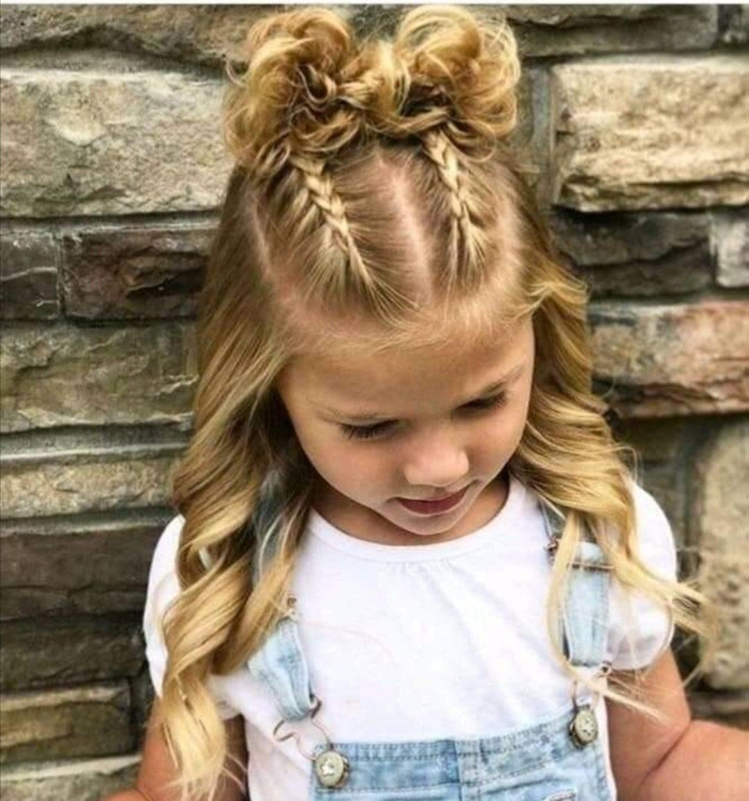 Pin By Delmy Martinez On Peinados Para Ninas Picture Day Hair Kids Hairstyles Girls Girls Hairstyles Easy