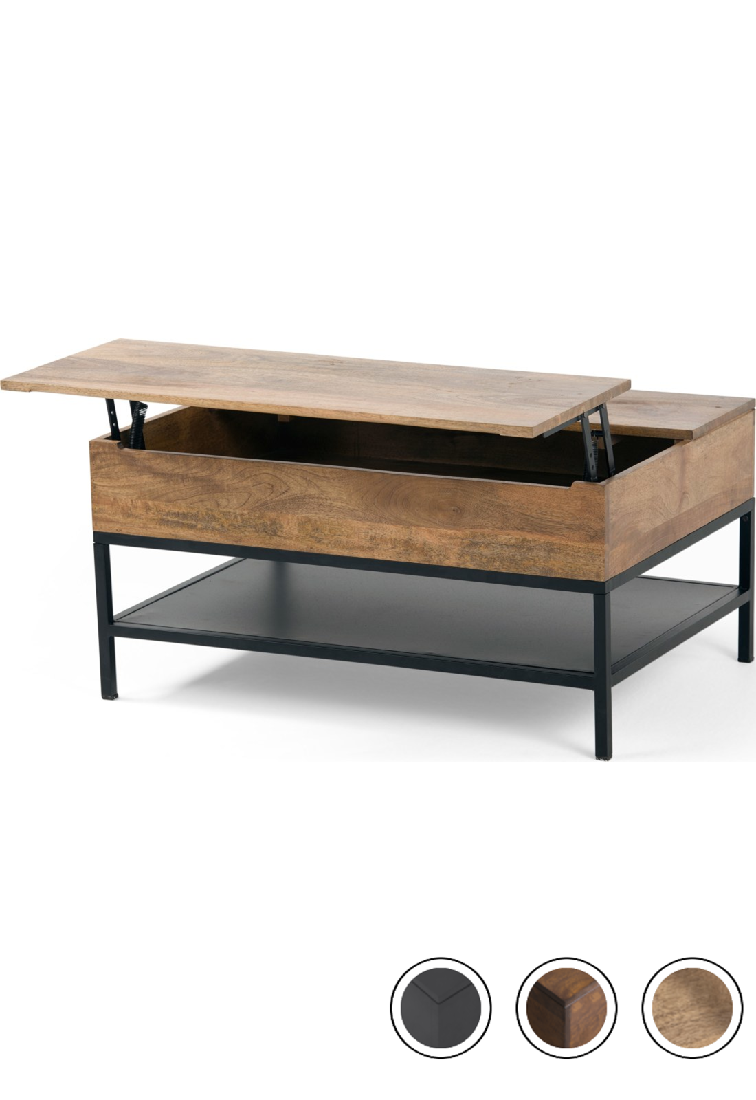 Made Lift Top Coffee Table With Storage Mango Wood Black Express Delivery Lomond Coffee Ta Coffee Table Wood Coffee Table Plans Wood Lift Top Coffee Table [ 1600 x 1100 Pixel ]