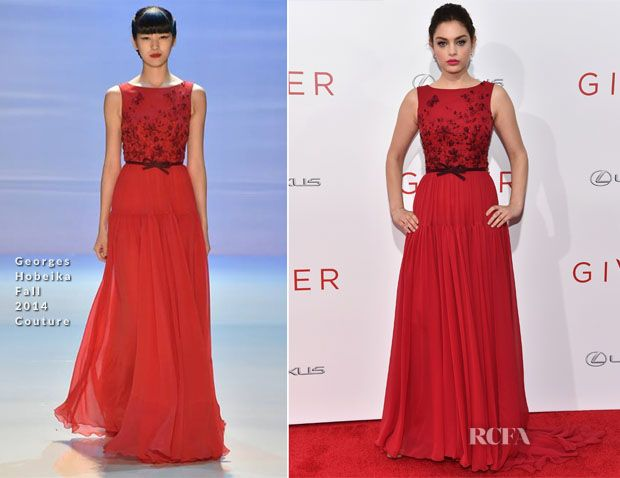 Odeya Rush In Georges Hobeika Couture – 'The Giver' New York Premiere