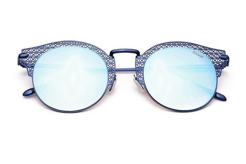 9d58093a49688 THE IZZ REVO   Óculos de Sol Espelhado Lasercut Redondo Vintage e  Sofisticado