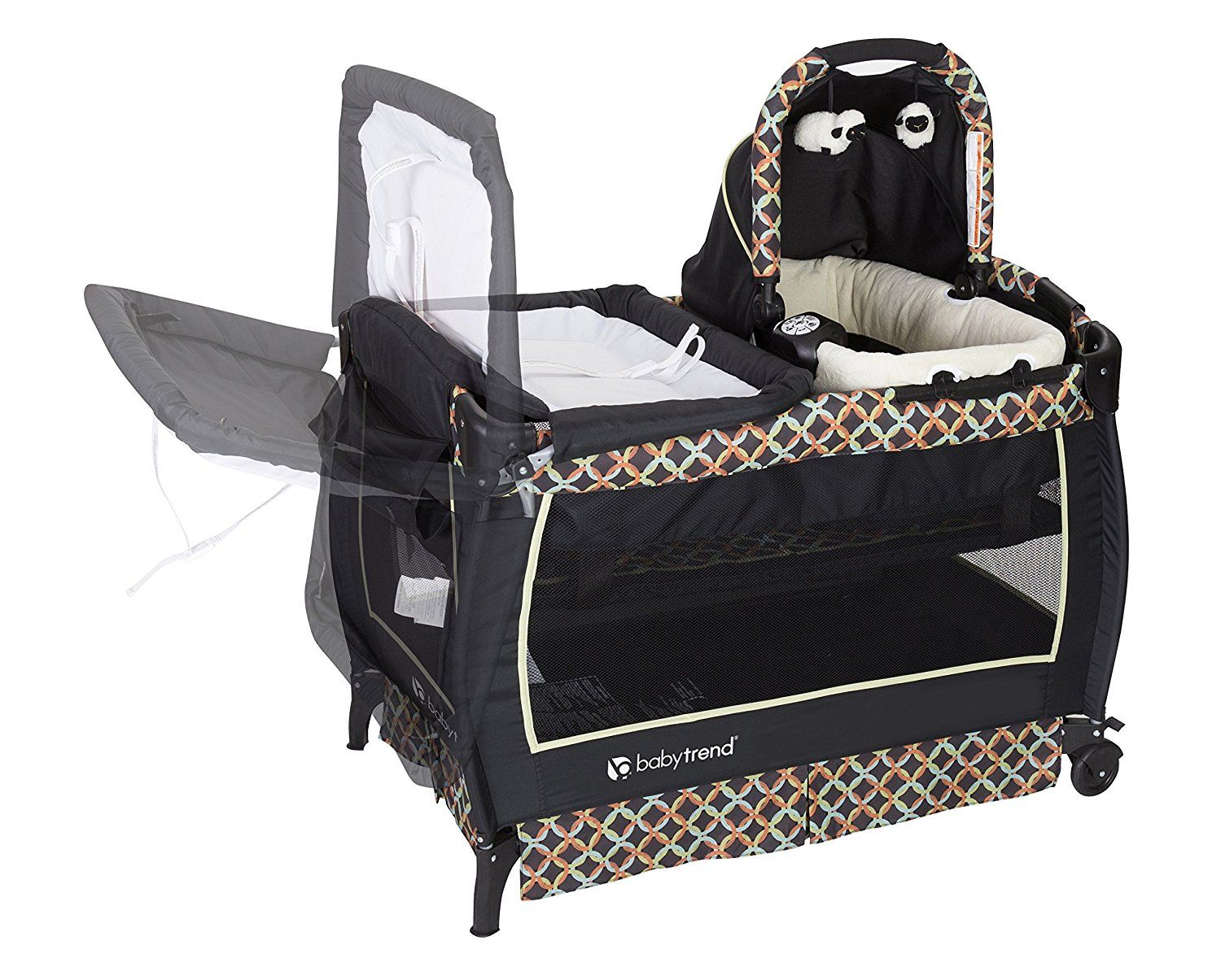Twin Stroller Dream Amazon Baby Trend Twin Nursery Center Circle Tech