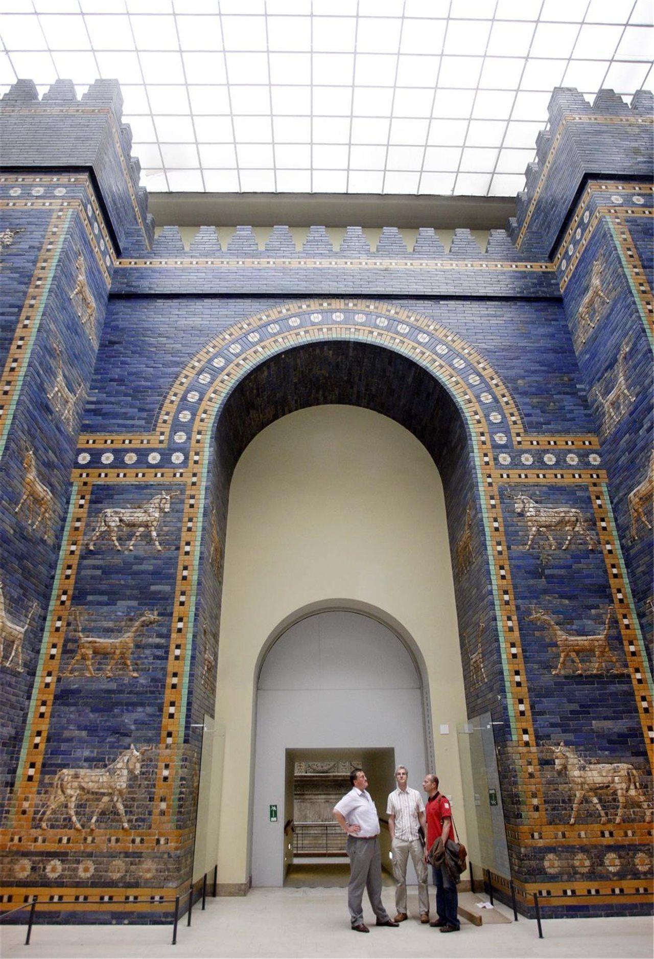 La Puerta De Ishtar Una Maravilla De La Antigua Babilonia Com