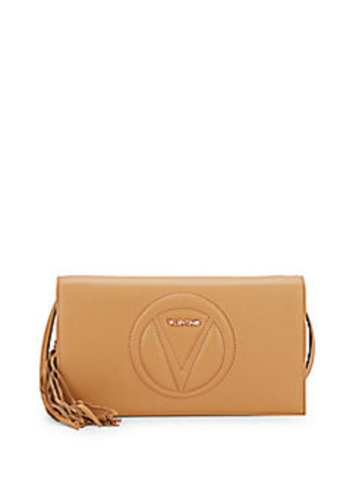 eac69a8b20 Get the trendiest Clutch of the season! The Valentino By Mario Lena Leather  Cross-body Caramello Clutch is a top 10 member favorite on Tradesy.