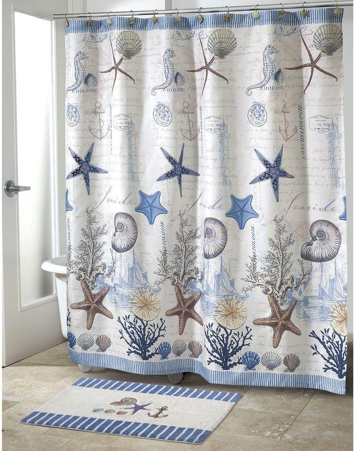 Shower Curtain For Beach House Dreams Bath Showercurtain