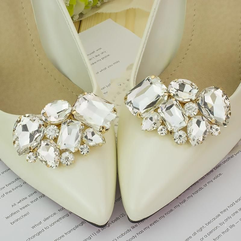 Shoe Buckle Pearl Shoes Clip Charms Wedding Shoes Decorative Accessories For Women