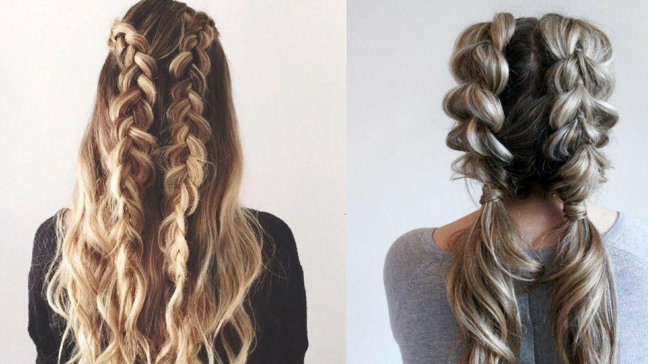 CUTE & EASY Everyday Hairstyles|| Quick Hair Tutorial. #8 ...