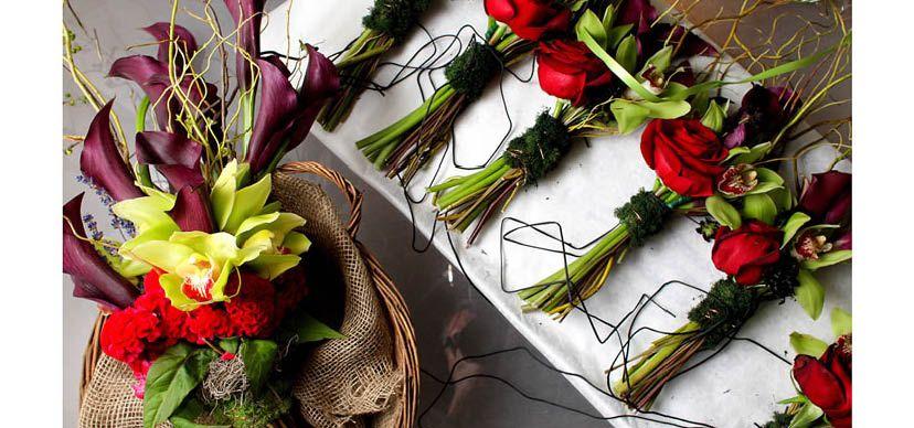 artistic bridal bouquets