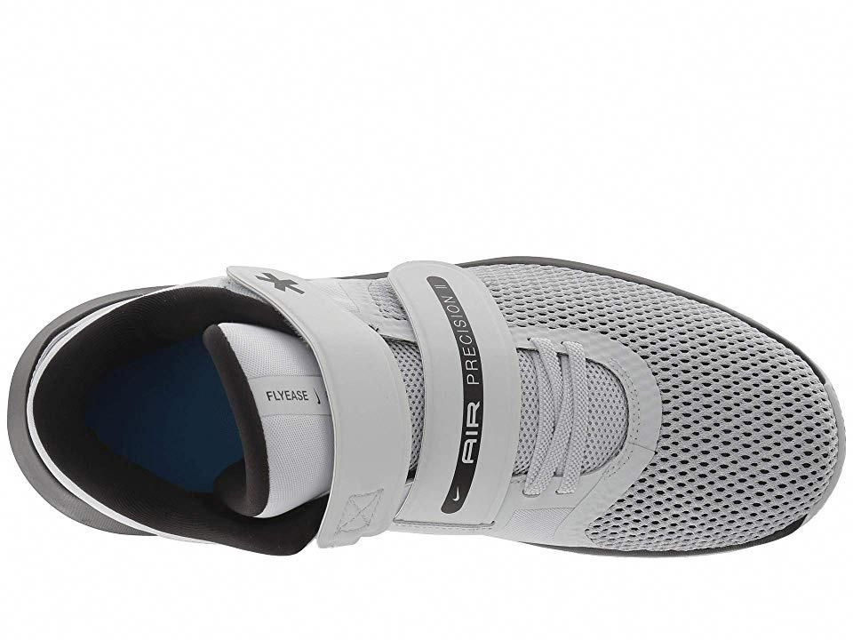 1491c464bfd4 Nike Air Precision II FlyEase Men s Basketball Shoes White Black Volt   basketballtraining