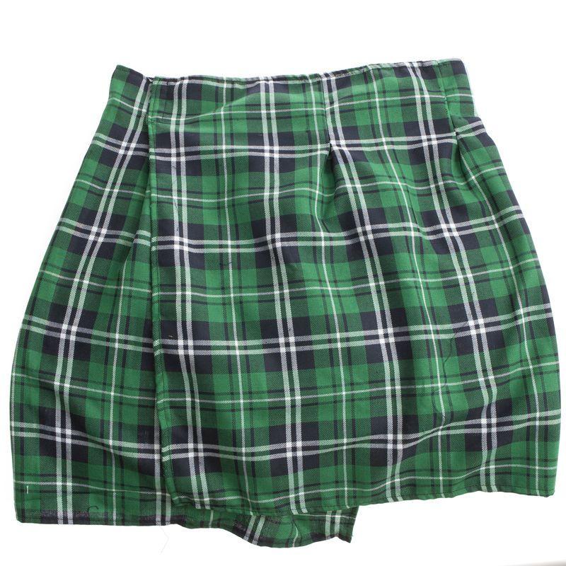 St. Patrick's Day Plaid Kilt
