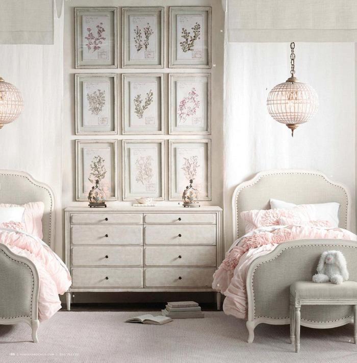 11 dormitorios rom nticos en tonos pastel para chicas On muebles de dormitorio para adultos romanticos
