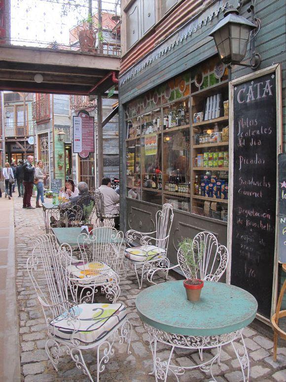 Marcelina Outdoor Cafe Sidewalk Cafe Patio Set