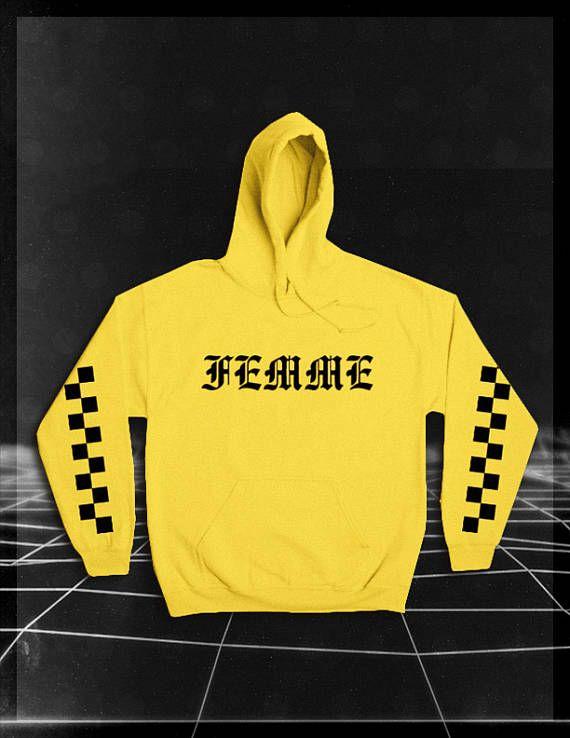 3d00162f3 Femme Hoodie // Femme Shirt // Vaporwave Clothing // Street ...