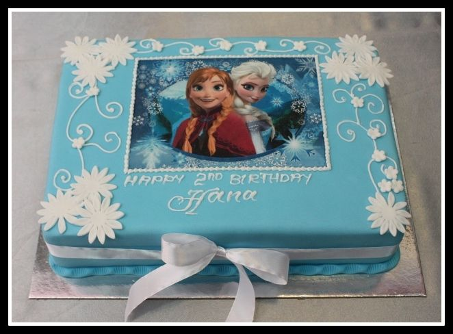 Pics For Gt Disney Frozen Birthday Cake Walmart Party