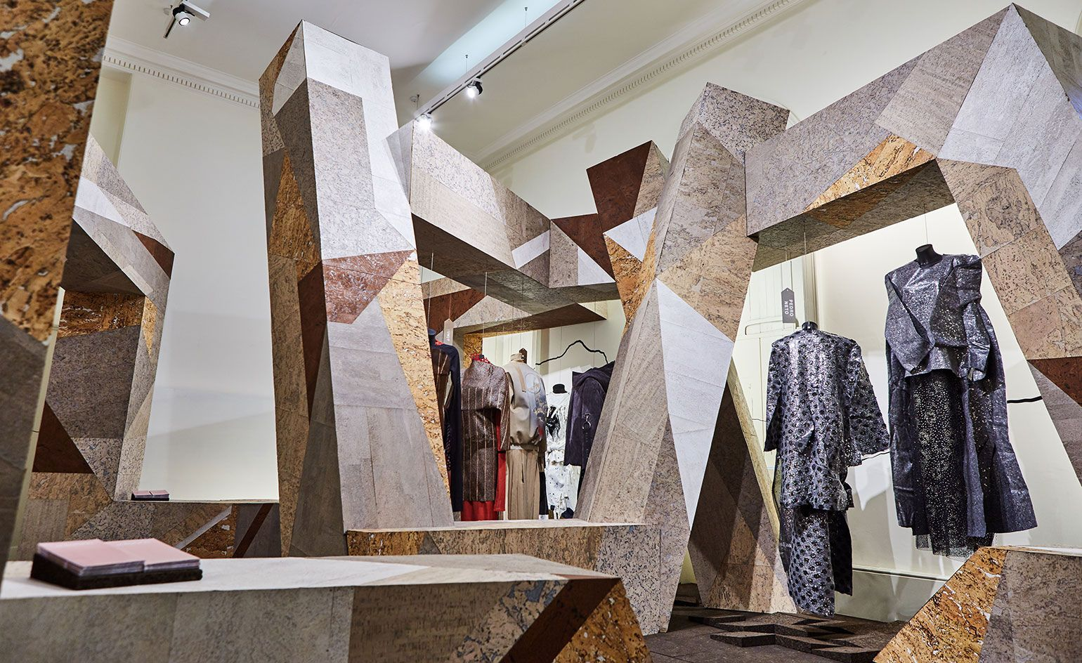 amorims cork installation for portugal at somerset house ifs 2016 london fashion week - Cork House 2016