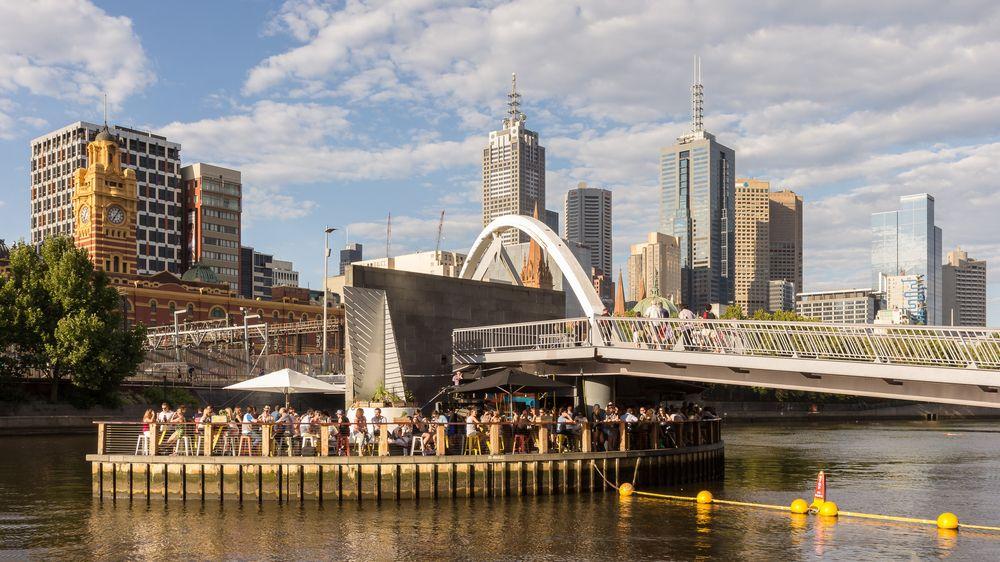 City of Melbourne, Victoria, Australia. Hot travel