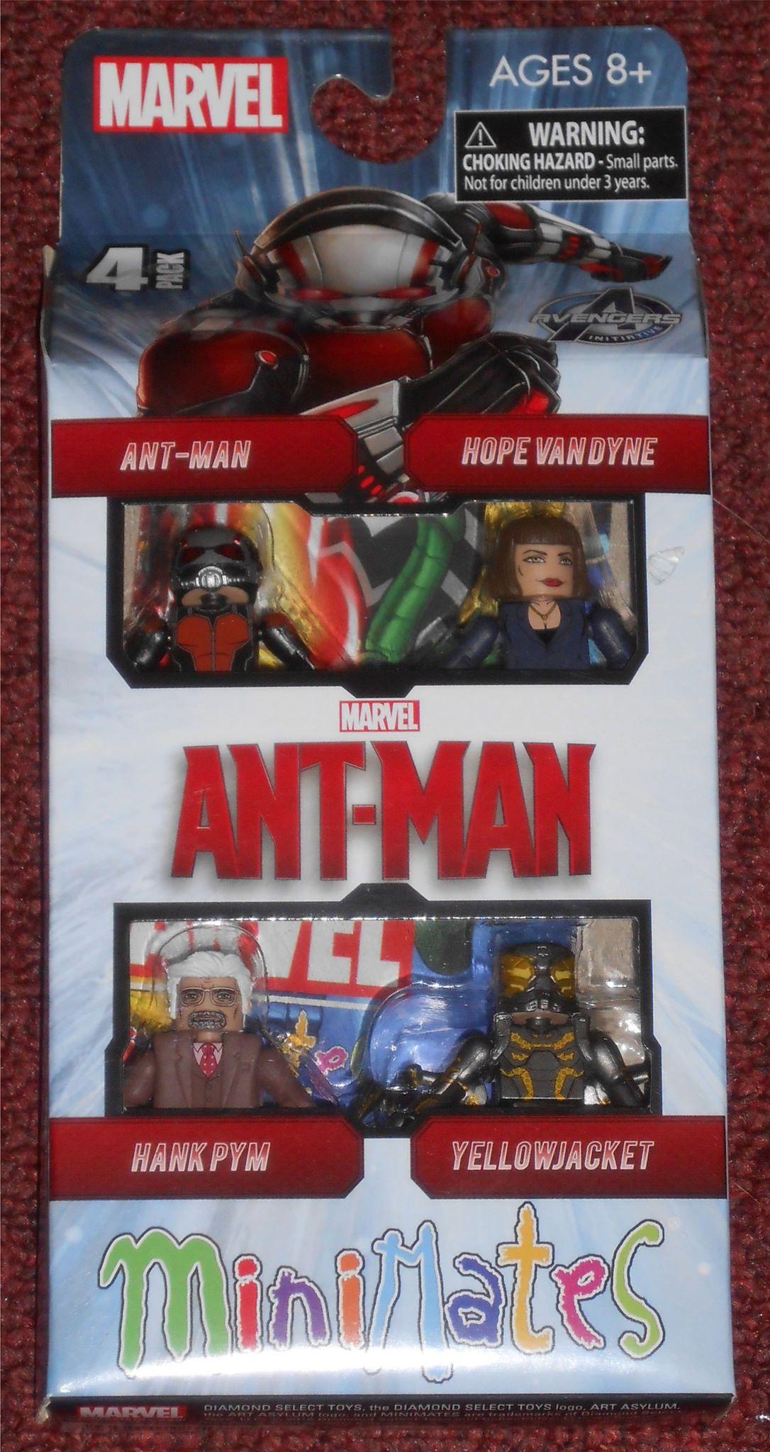 Marvel Minimates Ant-Man Movie Hope Van Dyne