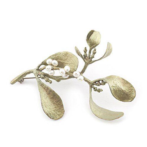 Mistletoe Brooch by Michael Michaud l £135 l V&A Shop