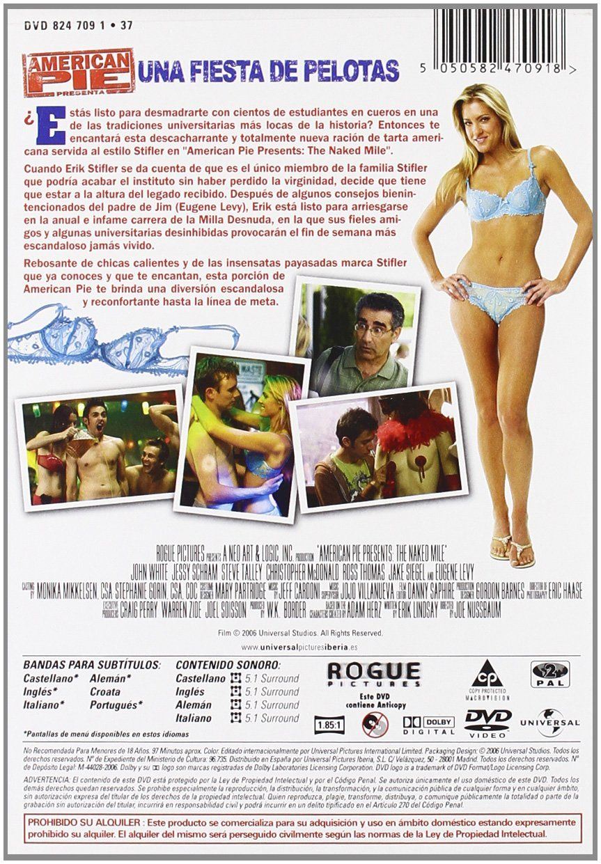 American Pie Una Fiesta En Pelotas american pie 5: una fiesta de pelotas [dvd] #una, #pie