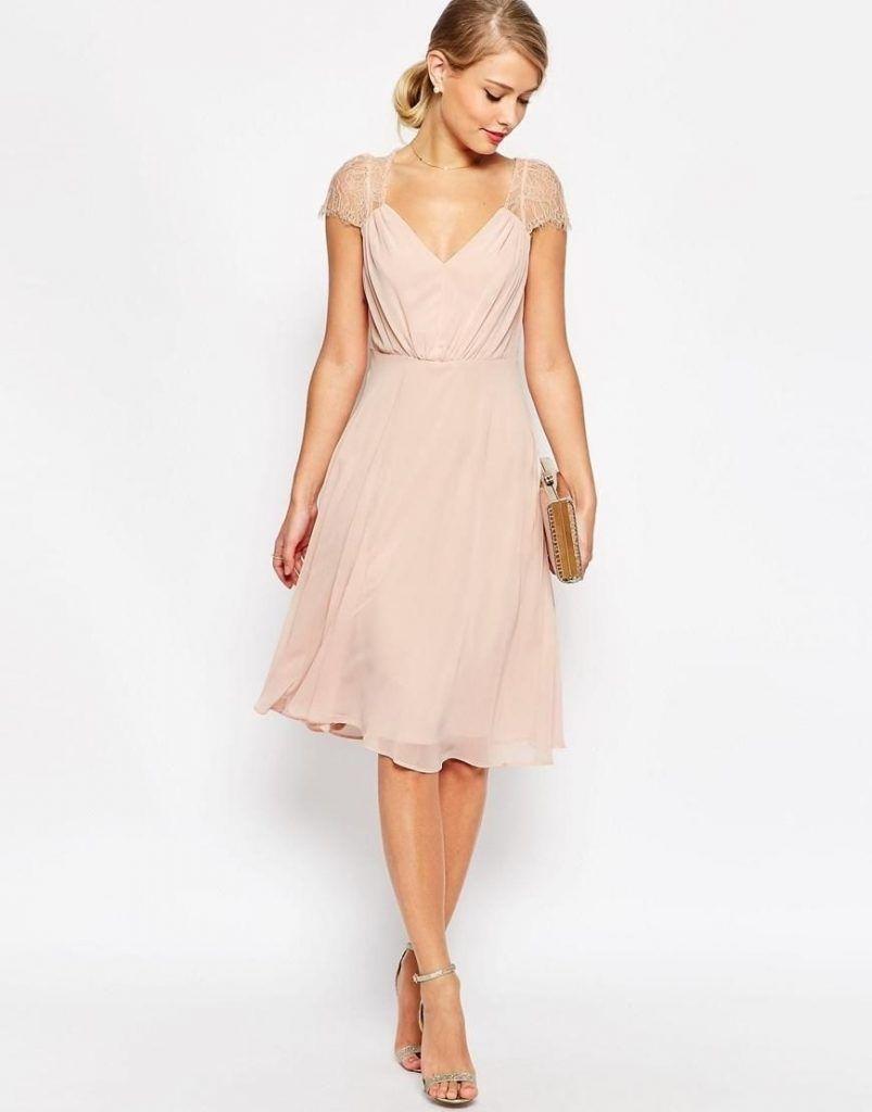 16 Genial Rosa Kleid Hochzeitsgast Design - Abendkleid  Wedding