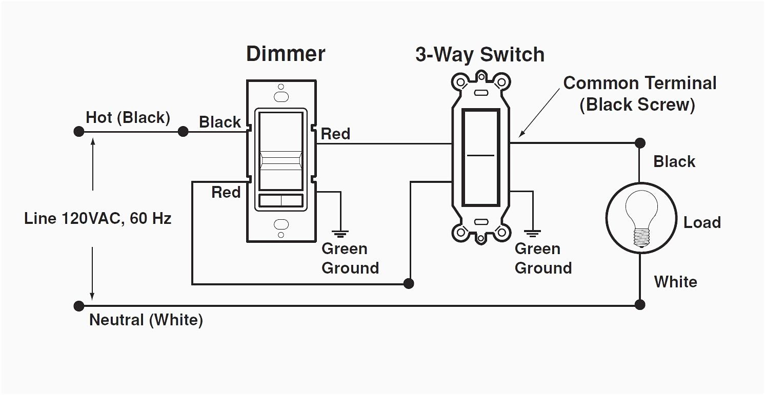 Lutron Dimmer Single Wiring Diagram