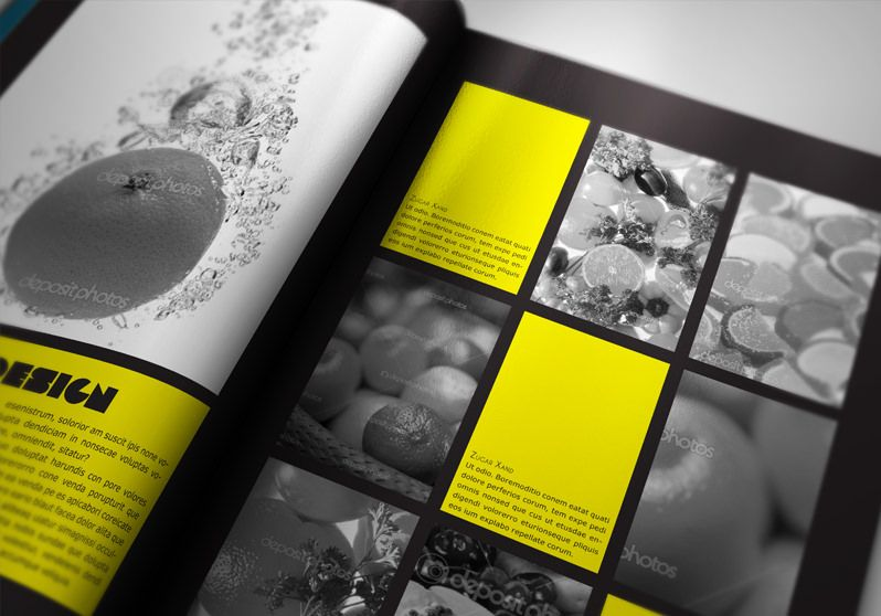 Free indesign portfolio book presenter disseny for Indesign templates for books