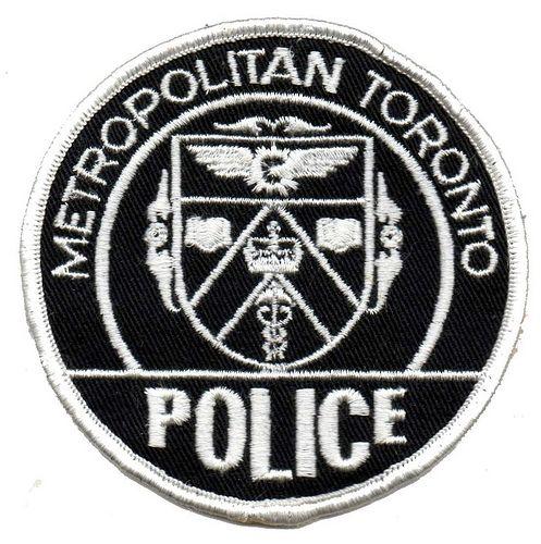 Vintage Obsolete Metropolitan Toronto Police Department Uniform Shirt Pre 1998