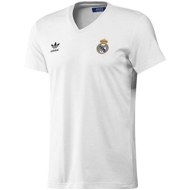 Camiseta clássica do Real Madrid 9365f13a67466