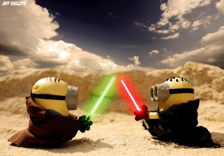 Jedi Minions Im In Love With Minions Right Now This Is So