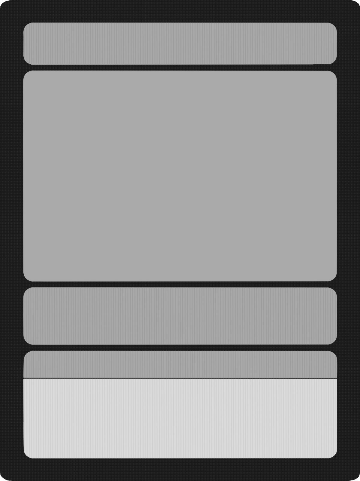 This Is A Free To Use Template For Those Wishing Intended For Blank Magic Card Template Business Professional Card Template Templates Professional Templates