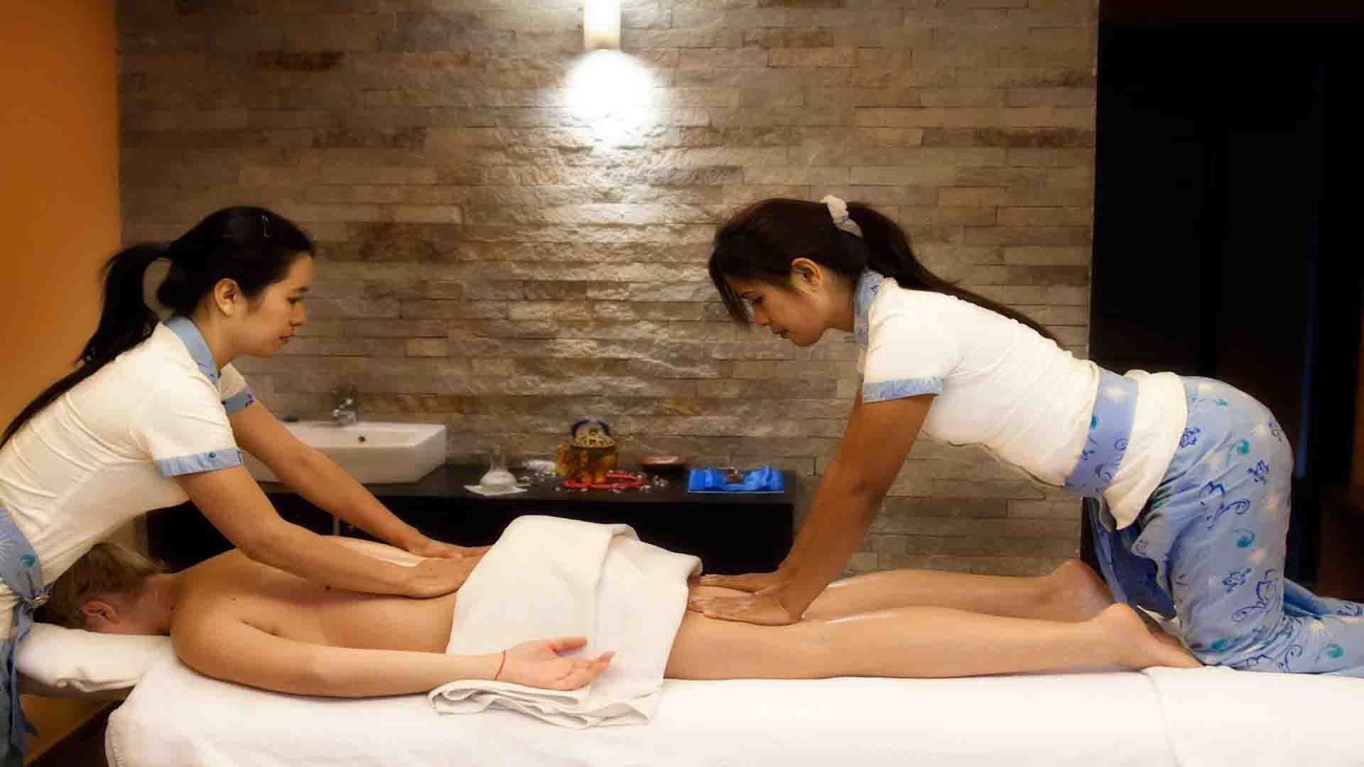 Massage center with happy ending