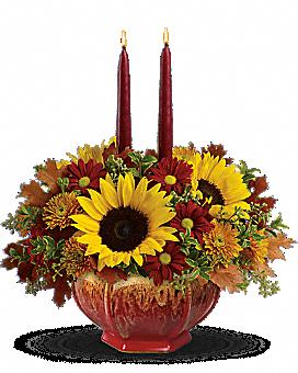 Teleflora's Thanksgiving Garden Centerpiece Flower