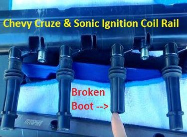 Chevy    Cruze Ignition Coil Problem and Solution   Diagrams