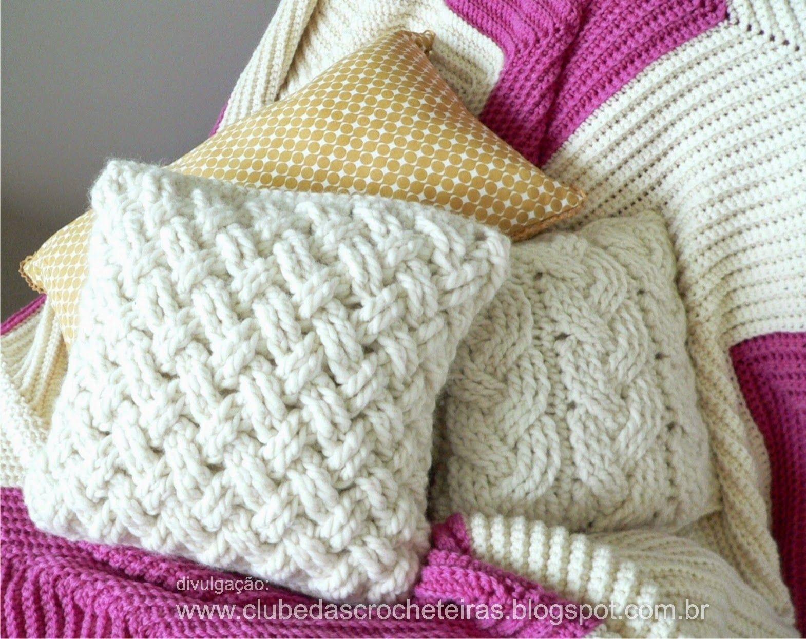 1570 1245 crochet pinterest tejido for Cojines de trapillo