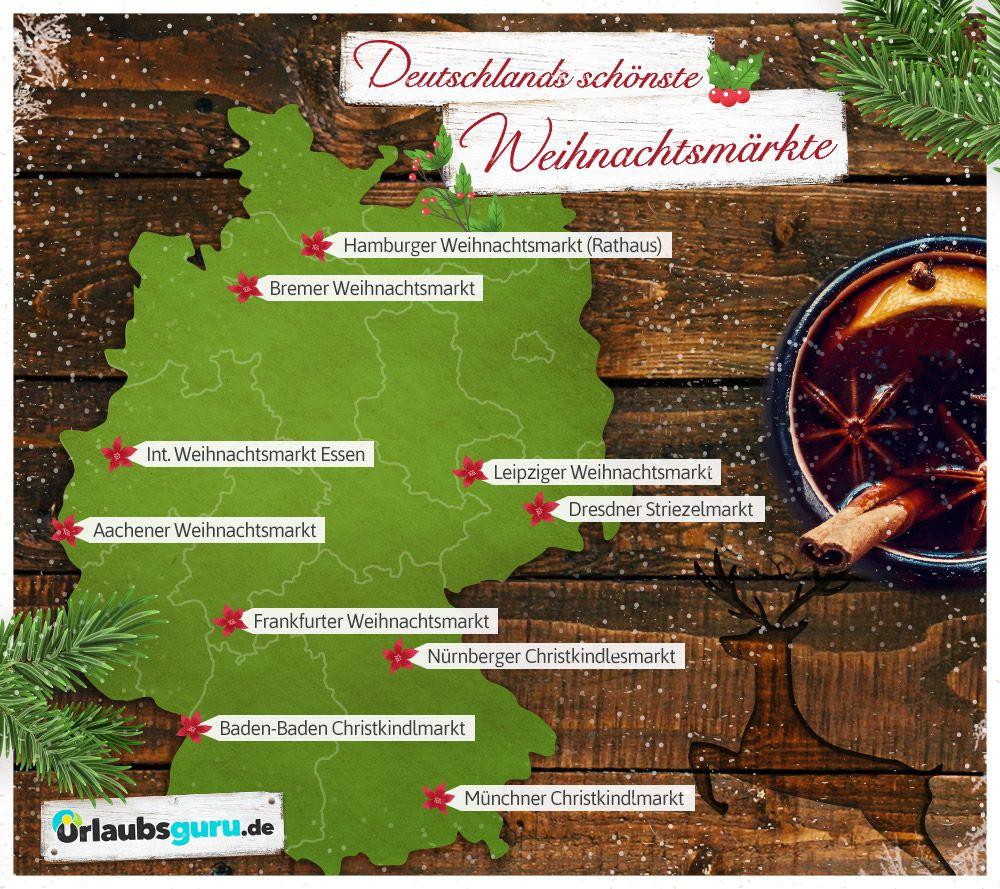 Die 10 Schonsten Weihnachtsmarkte In Deutschland Deutschland Liebe