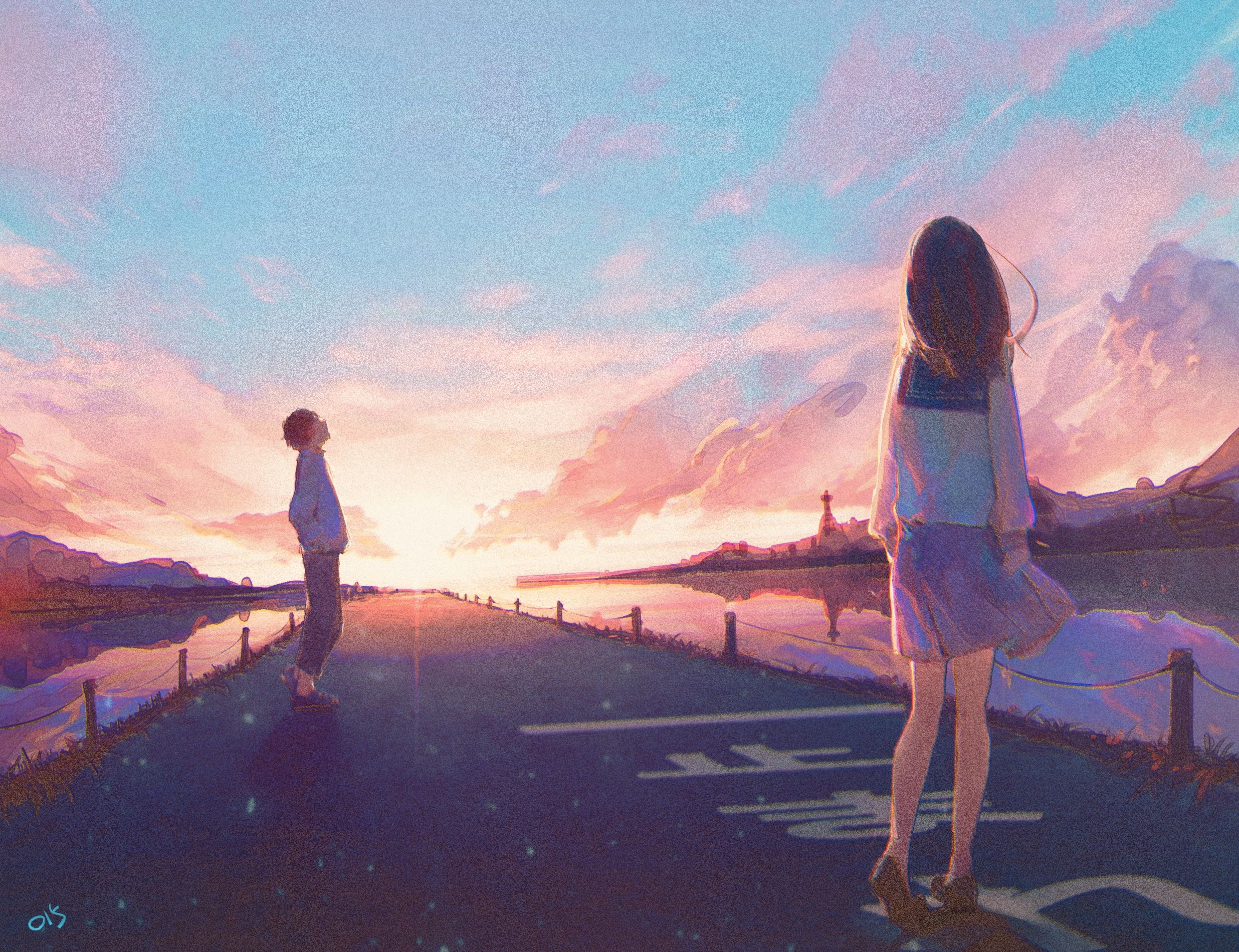 Art by Kissssei Anime scenery, Anime background, Anime