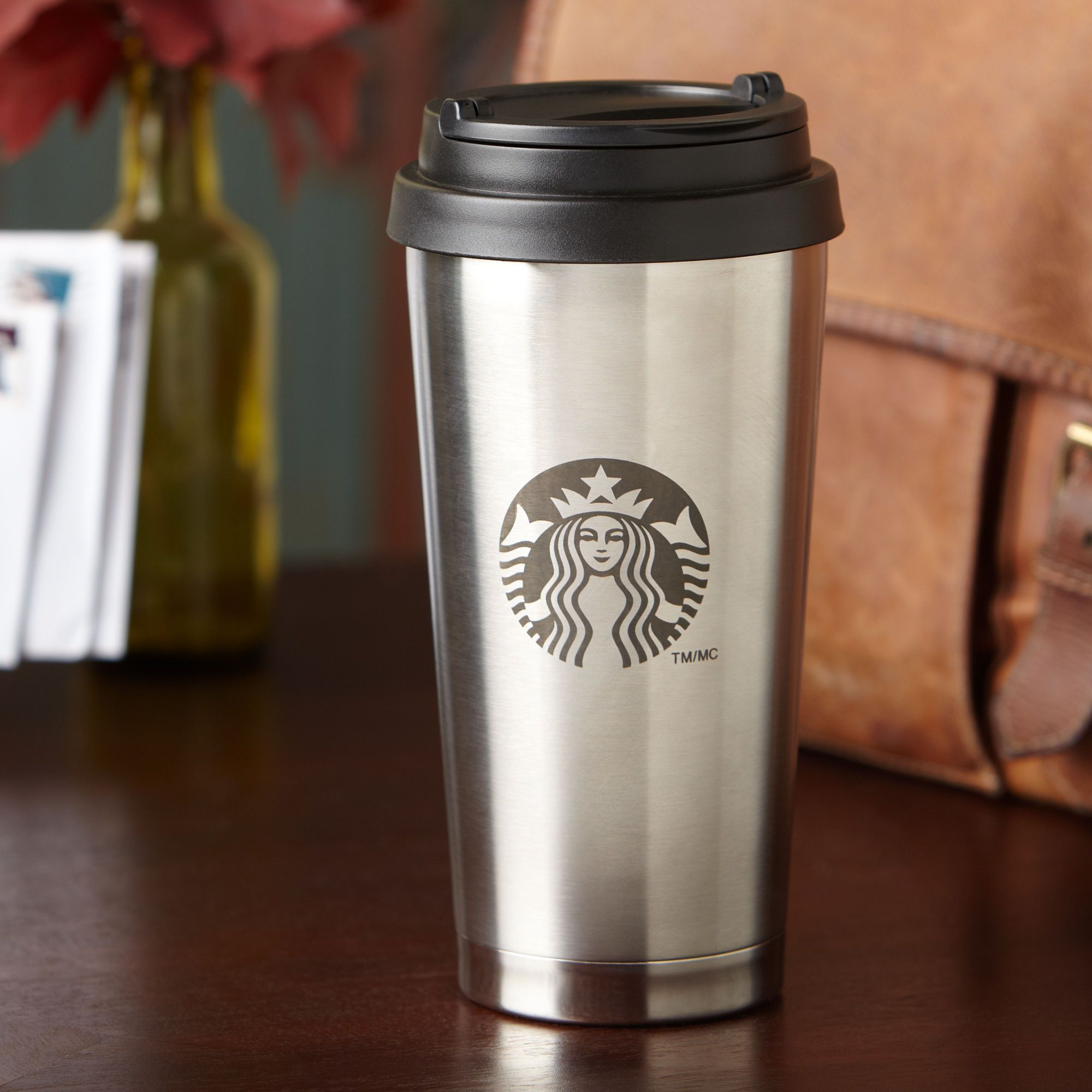 coffee tumbler stainless steel starbucks i so need one of these taylor had a good one and it. Black Bedroom Furniture Sets. Home Design Ideas