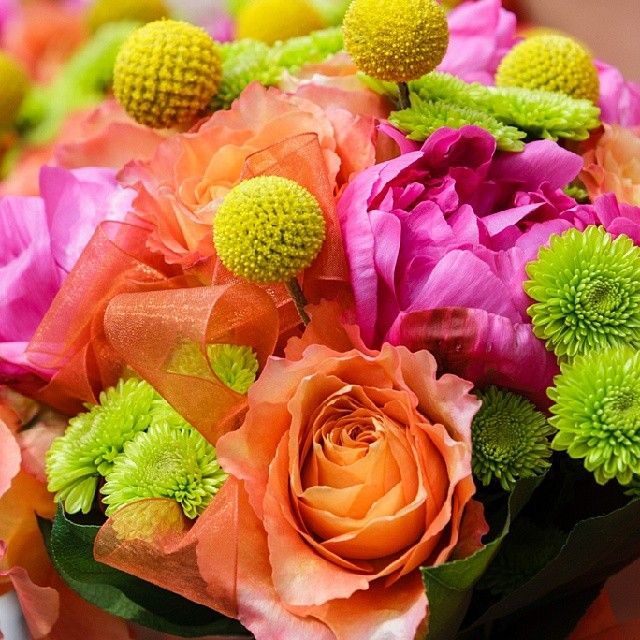"@webersa2's photo: ""Stunning & fun #wedding #bouquet! Perfect for #spring or #summer. Photo by Teal Photography."" www.webersinn.com"