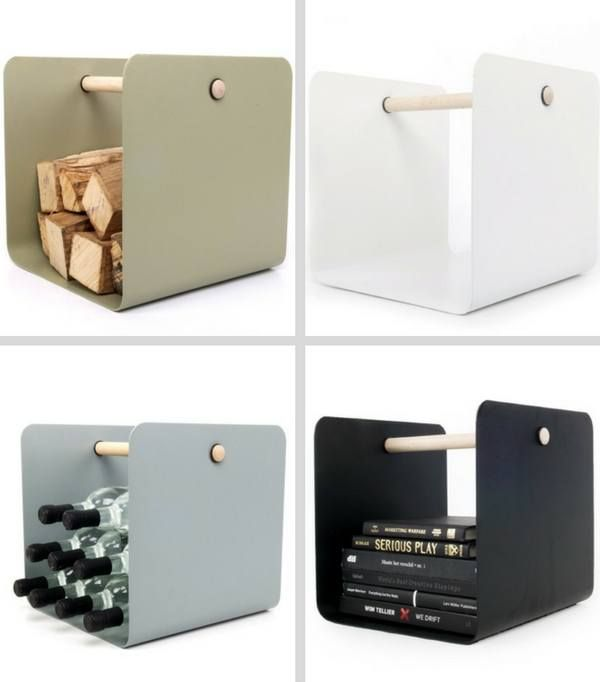 RangeBûches PorteBûches Pour Un Intérieur Design TOP Log - Porte bûches