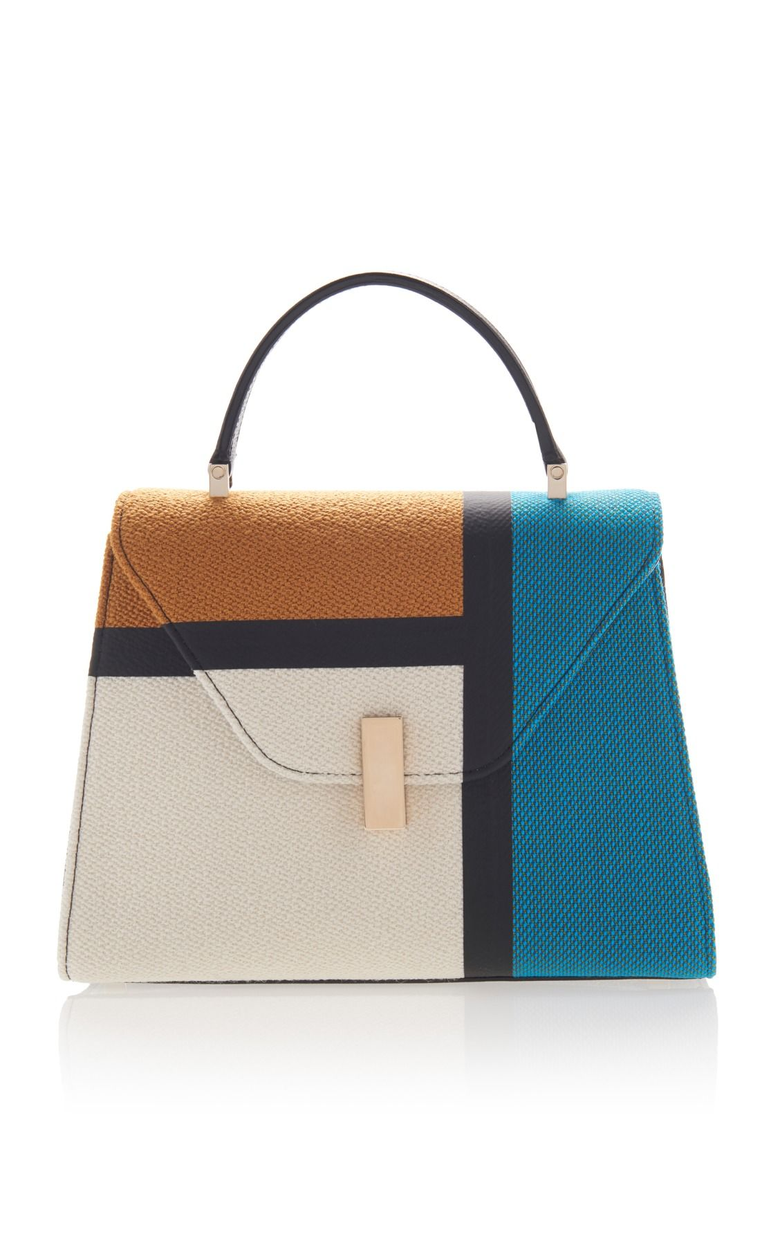 Iside medium colour-block bag Valextra PK2O88a
