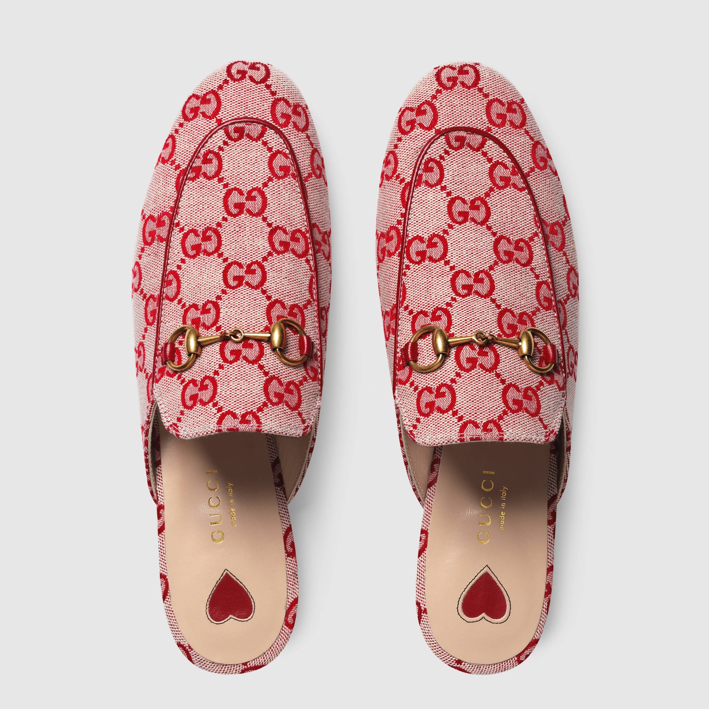 Princetown GG canvas slipper - Gucci
