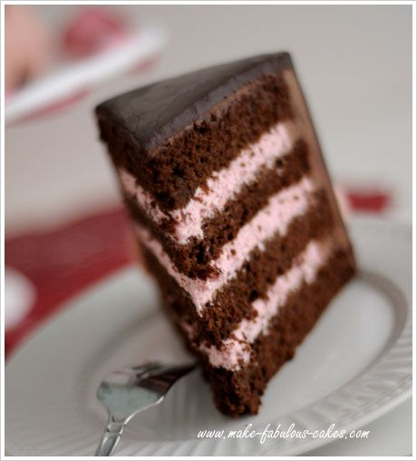 strawberry mousse cake filling (or just serve it up in a glass :) since justin likes chocholate and its a girl. If you want a chocolate cake...yummy