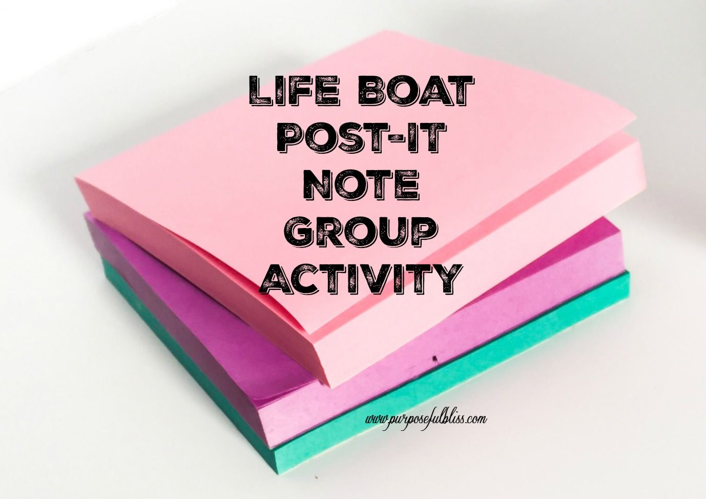 Using Post It Notes When Planning A Group Activity Is A