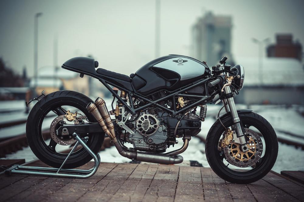 De Custom Bike Van Deze Week Een Mostro 900 Ducati Cafe Racer
