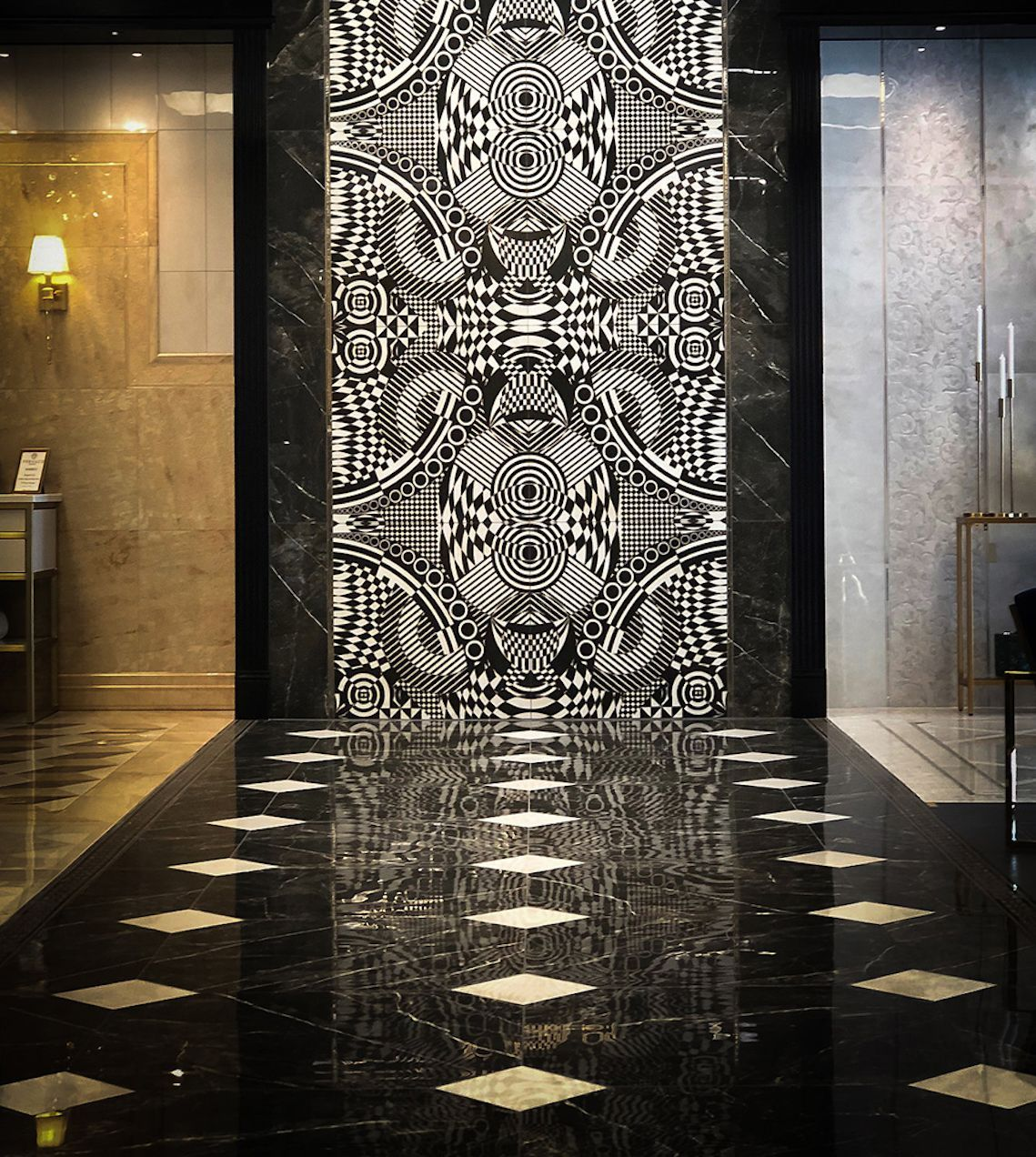 Versace Art Design Wayne Tile Ceramic